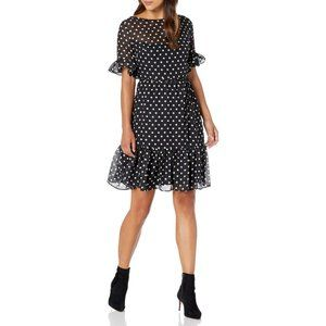 Betsey Johnson Polka Dot A Line Dress